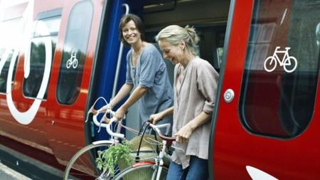 Transport Venindeferie S Tog Cykler