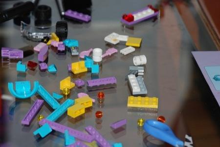 Hemos probado en casa el fantastico descapotable de Stephanie, uno de los juguetes de Lego Friends