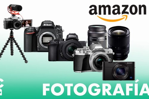 Ofertas en fotografía para adelantarte al Black Friday: Amazon te deja cámaras sin espejo y de acción, objetivos o trípodes a los mejores precios