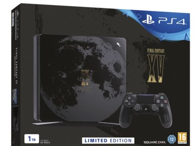 Sony confirma la PS4 de edición limitada del Final Fantasy XV para España