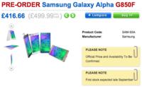 Samsung Galaxy Alpha llegará al Reino Unido por 499£