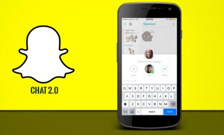Snapchat se actualiza para traer todas las bondades de Chat 2.0