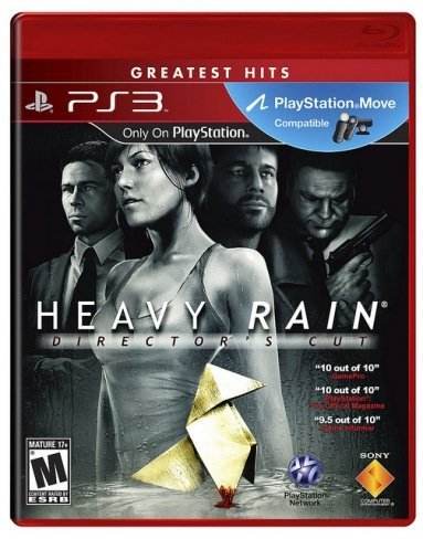 Heavy Rain Director's Cut: lo incluye todo, todo y todo