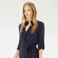Vestido Azul Marino Warehouse
