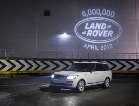 Land Rover alcanza las seis millones de unidades producidas