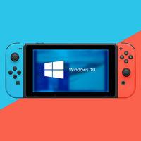 La escene de la Switch de nuevo a escena: logran ejecutar Windows 10 en consola de Nintendo