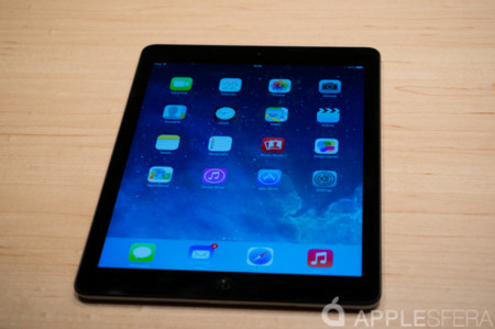 Primer contacto iPad Air