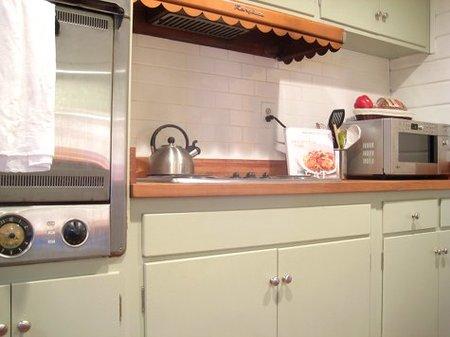 Otra vista de la cocina de Lexie.
