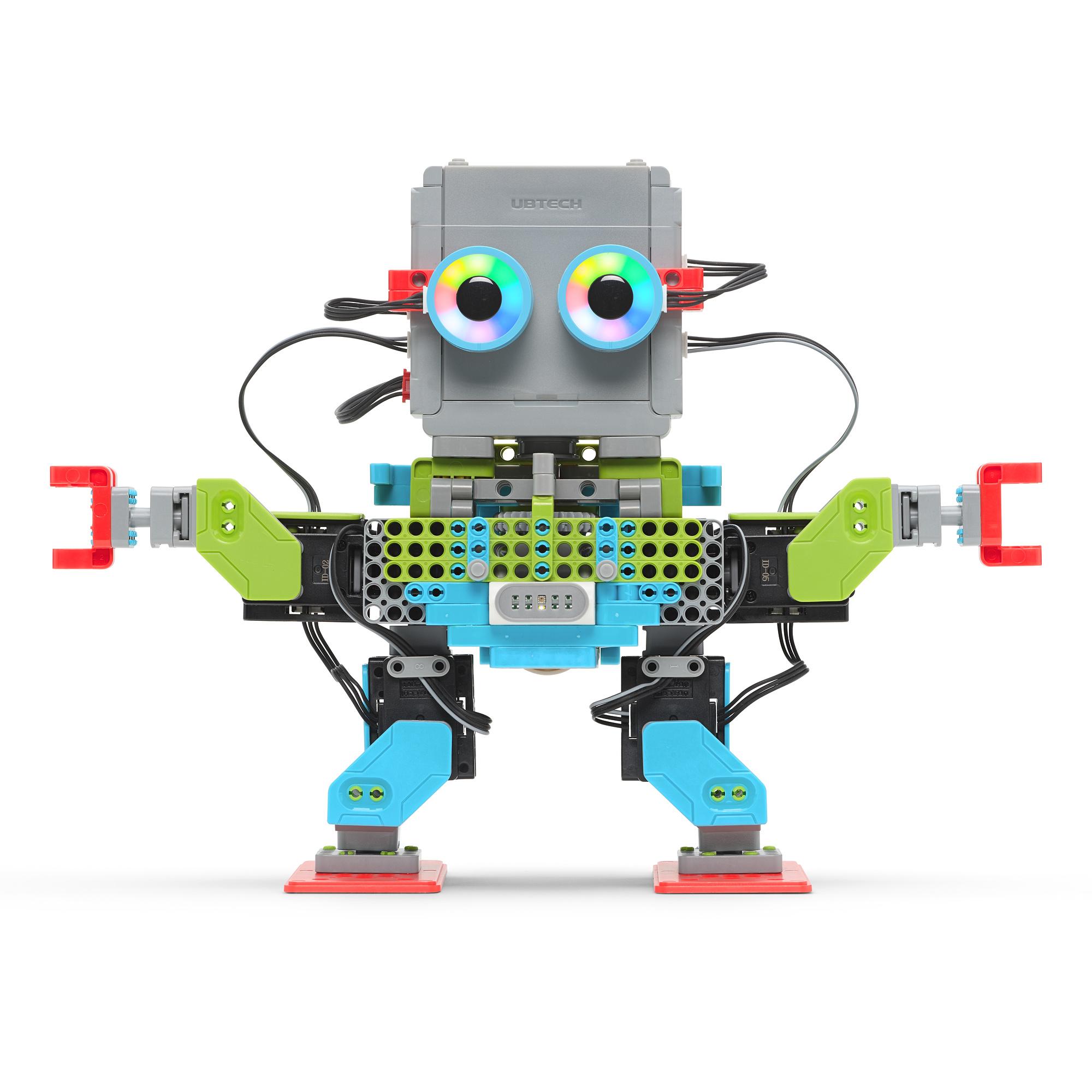 Kit STEM de programación y construcción con app Jimu Robot MeeBot 2.0 de UBTECH