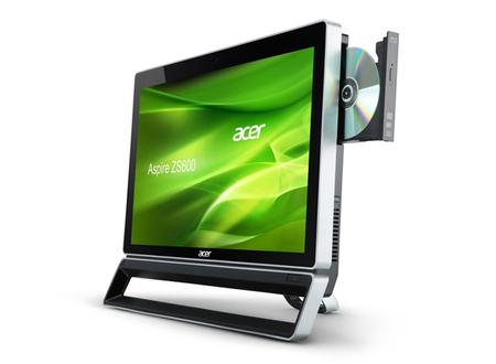Acer Aspire ZS600, todo en uno mutitáctil con Windows 8