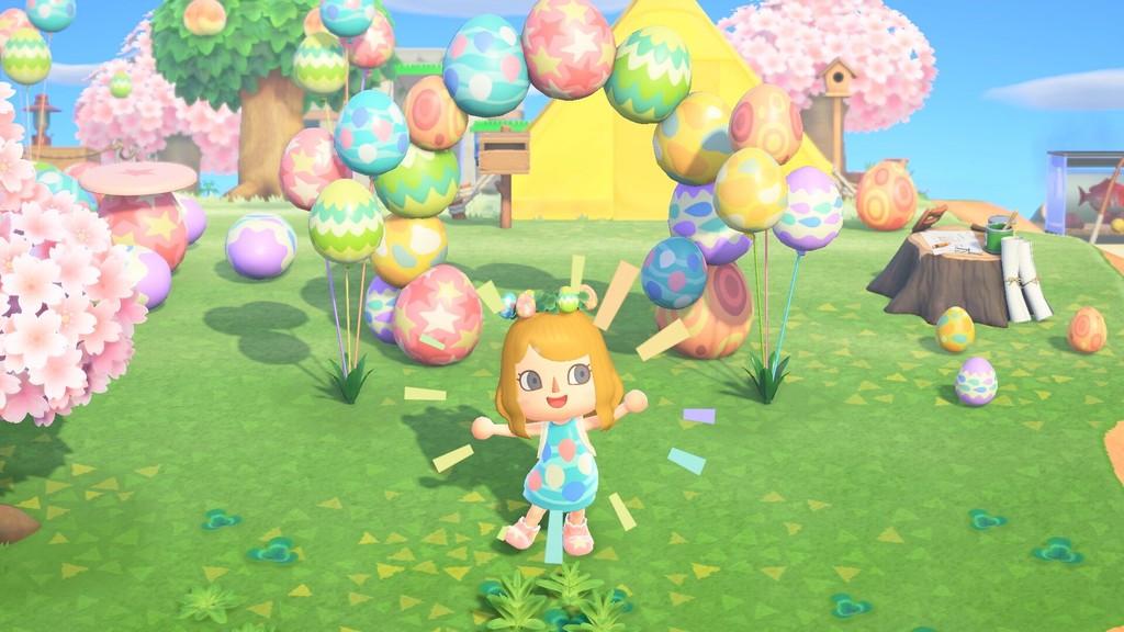 ¿Harto de los huevos del evento de Animal Crossing: New Horizons? El nuevo parche rebaja su ratio de aparición