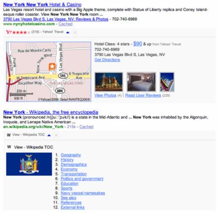Yahoo Search Monkey, plugins para personalizar los resultados de Yahoo
