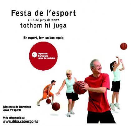 Fiesta del deporte en Barcelona: el deporte sale a la calle