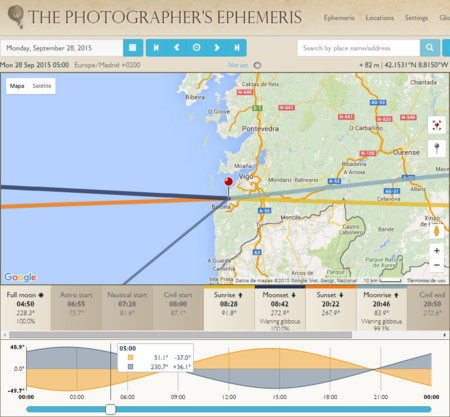 The Photographer's Ephemeris (TPE)