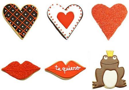 San Valentín: galletas de Carlota's