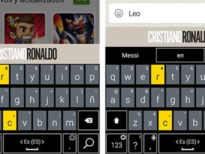 Sí, existe un teclado oficial de Cristiano Ronaldo y es tan absurdo como suena