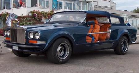 Salir a cazar halcones con un Rolls-Royce Camargue