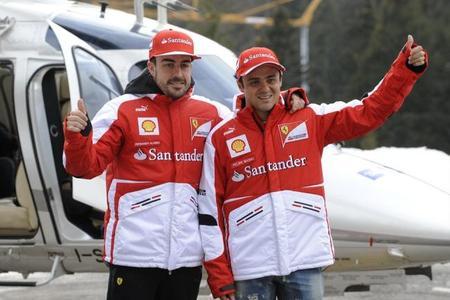 Fernando Alonso: levantar el trofeo de Campeón del Mundo vestido de rojo tiene que ser una experiencia única