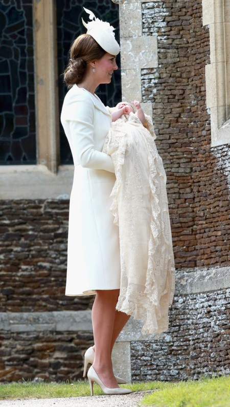 Kate Middleton look bautizo Charlotte