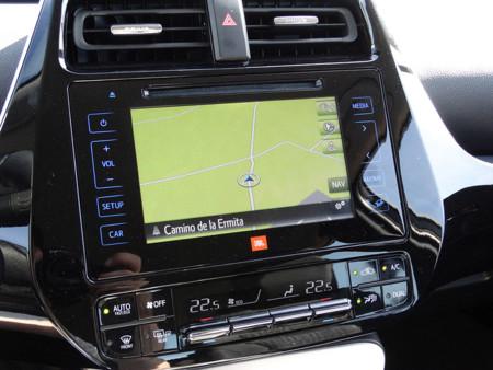 GPS Prueba Toyota Prius 2016 Detalles Interiores