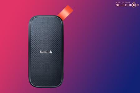 """Copias de seguridad """"a la velocidad de la luz"""" con el SSD portátil de 1 TB de SanDisk a 109 euros en Amazon, su mínimo histórico"""
