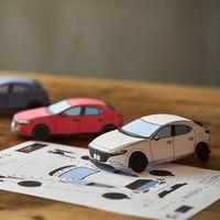 Arma tu propio Mazda3 o MX-5 con estos planos de origami que puedes descargar gratis
