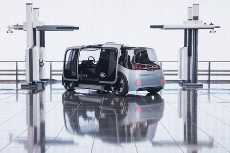 Jaguar Land Rover muestra Project Vector, su concepto de vehículo autónomo, queriendo crear un servicio de movilidad en 2021