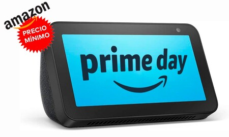 A la mitad: el Echo Show 5 de Amazon ahora cuesta más barato que nunca. El Prime Day nos lo deja en sólo 44,99 euros