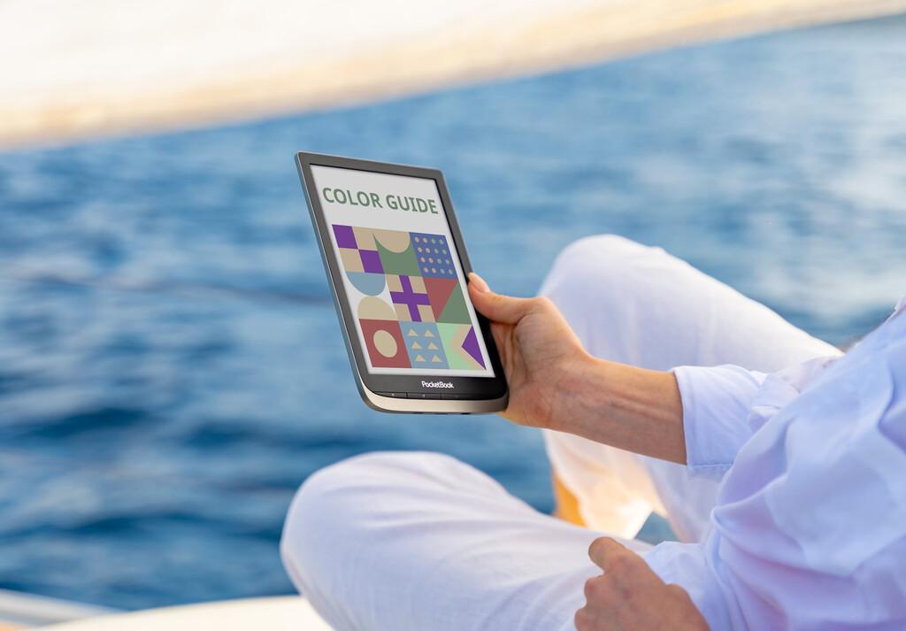 PocketBook InkPad Color: el nuevo eReader de Pocketbook tiene una enorme pantalla a color de 7,8 pulgadas