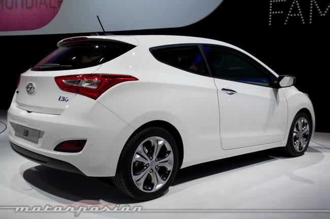 Hyundai i30 3 puertas, en el salón de París