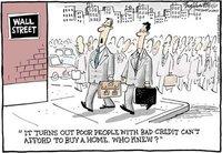 ¿Quién se imaginaba una crisis crediticia?