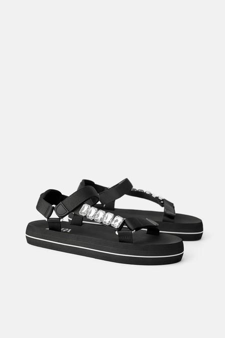 Sandalia Plana Zara 2019 10