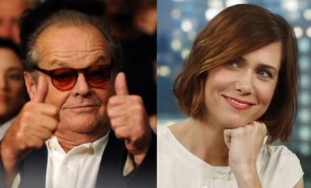 Jack Nicholson vuelve al cine con el remake de 'Toni Erdmann' y Kristen Wiig será su hija