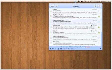 Facetab y Mailtab, cómo aprovechar webapps desde tu Mac