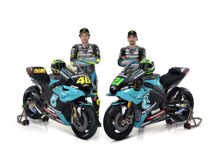 El Petronas estrena equipo y luce a su estrella: todas las fotos de los nuevos colores de Valentino Rossi