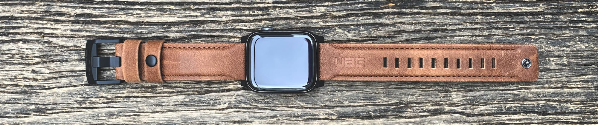 Foto de UAG Leather Strap para Apple Watch (8/18)
