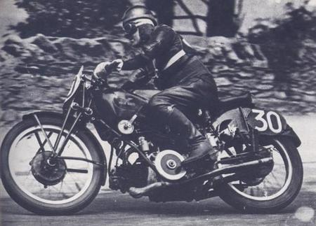 Stanley Woods Moto Guzzi 1935