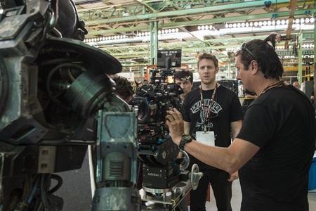 Neill Blomkamp durante el rodaje