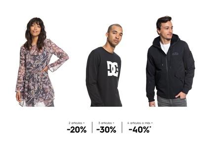 El Black Friday nos trae hasta un 40% de descuento en Quiksilver, Dc Shoes y Roxy