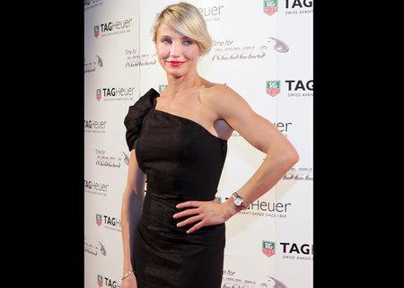 Cameron Díaz, nueva embajadora TAG Heuer Link Lady. Baselworld 2012