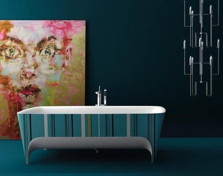 Da un toque artístico y de color a tu baño con las bañeras de Accademia de Teuco