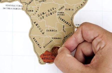 mapa rascar