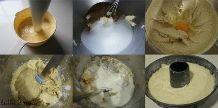Paso a paso cake de plátano y nata