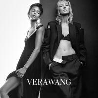 Binx Walton y Josephine Le Tutour protagonizan la campaña de Vera Wang por Patrick Demarchelier