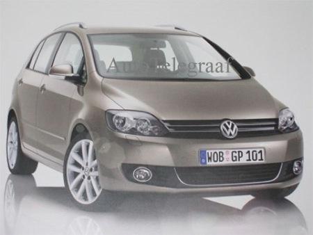 Volkswagen Golf Plus, primera foto del restyle 2009