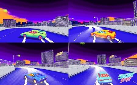 PS4 y PS Vita también se apuntan a los derrapes retro de Drift Stage