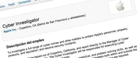 Apple ofrece un nuevo puesto como investigador de delitos informáticos