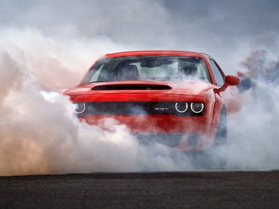 Los primeros Dodge Challenger SRT Demon ya salieron de cautiverio y había que medirlo en un dinamómetro