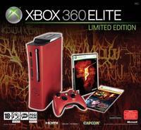 Microsoft confirma la Xbox 360 Elite roja con 'Resident Evil 5'
