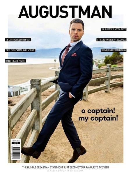 Sebastian Stan Es El Hombre Mas Cool Del Momento Y Tres Portadas De Revista Lo Confirman 4